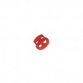 Bloqueur double oval en nylon - coloris Rouge