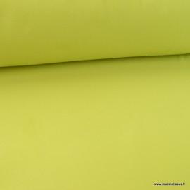 Tissu Micro polaire vert Apple - oeko tex