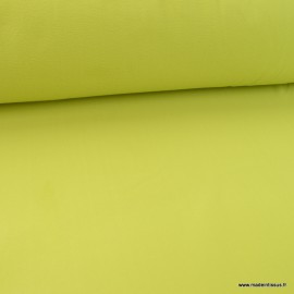 Tissu Micro polaire Bleu vert Apple - oeko tex