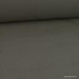 Tissu Micro polaire Gris plomb - oeko tex