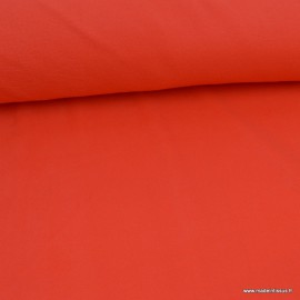 Tissu Micro polaire Grenade - oeko tex