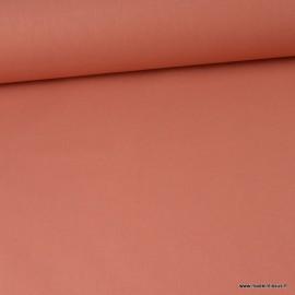 Tissu coton Enduit uni Marsala -  Oeko tex