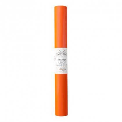 Flex Thermocollant - coupon 50 x 25 cm - Orange