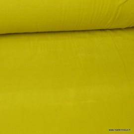 Tissu Micro polaire vert Bivouac - oeko tex