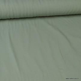 Tissu jersey Bio coloris celadon - Label Gots & Oeko tex