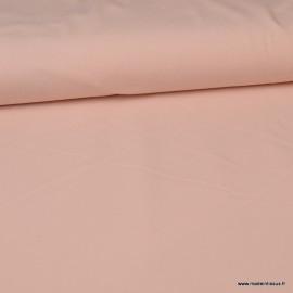 Tissu jersey Bio coloris Rose - Label Gots & Oeko tex