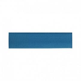 Elastique Souple 25mm coloris Turquoise