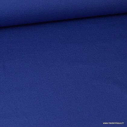 Tissu sergé coton lourd bleu royal 300gr/m²