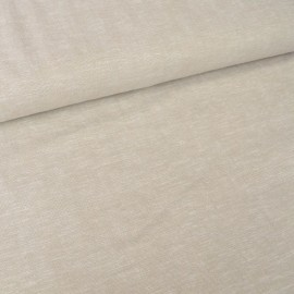Tissu viscose Lin Beige - au mètre