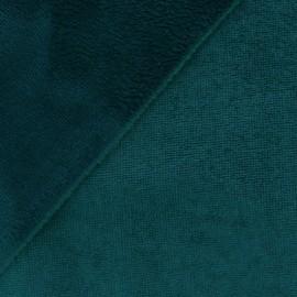 Tissu micro éponge de bambou Paon - oeko tex