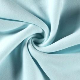 Tissu Polaire pur coton coloris Menthe - Oeko tex