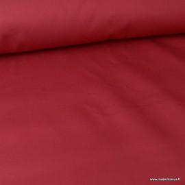 Tissu sergé coton lourd bordeaux  300gr/m²