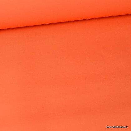 Tissu sergé coton lourd orange 300gr/m²