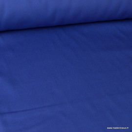 Tissu sergé coton lourd bleu 300gr/m²
