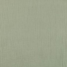 Tissu Double gaze coton Tilleul - oeko tex