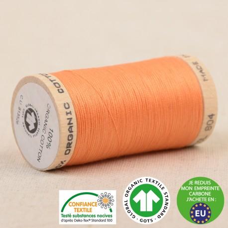 Fil à coudre Bio 100% coton - 275 m - Orange