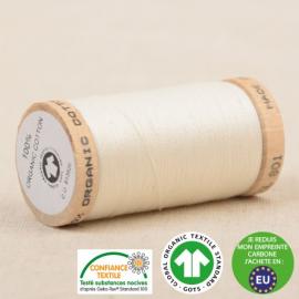 Fil à coudre Bio 100% coton - 275 m - Blanc cassé