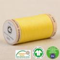 Fil à coudre Bio 100% coton - 275 m - jaune