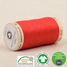 Fil à coudre Bio 100% coton - 275 m - Rouge