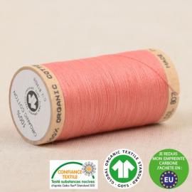 Fil à coudre Bio 100% coton - 275 m - Corail