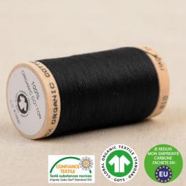 Fil à coudre Bio 100% coton - 275 m - Noir