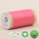 Fil à coudre Bio 100% coton - 275 m - Rose bonbon
