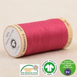 Fil à coudre Bio 100% coton - 275 m - Rose Fuchsia