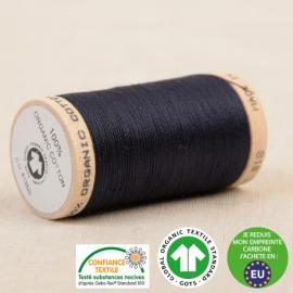Fil à coudre Bio 100% coton - 275 m - Bleu marine foncé