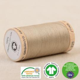 Fil à coudre Bio 100% coton - 275 m - Beige Antilope