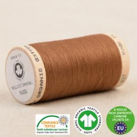 Fil à coudre Bio 100% coton - 275 m - Havane