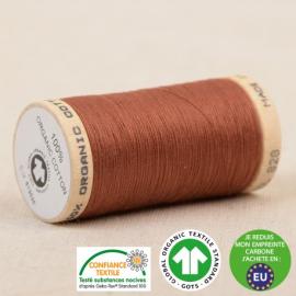 Fil à coudre Bio 100% coton - 275 m - Fauve