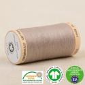 Fil à coudre Bio 100% coton - 275 m - Taupe