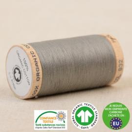 Fil à coudre Bio 100% coton - 275 m - Gris cendre