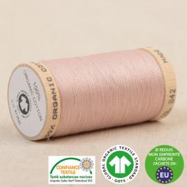Fil à coudre Bio 100% coton - 275 m - Rose Poudre
