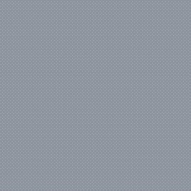 Tissu coton Enduit motifs Pois blanc fond gris -  Oeko tex