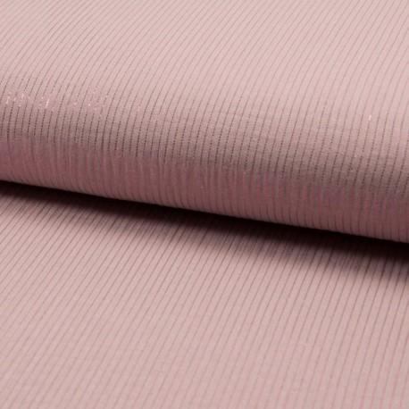 Tissu Double gaze coton Glitter motifs pissenlits fond Moutarde