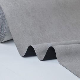 tissu ALASKA occultant isolant thermique gris x50cm