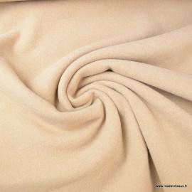 Tissu Lainage Taupe pour caban ou manteau