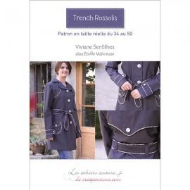 Livre Trench Rossilis de Viviane Sentilhes