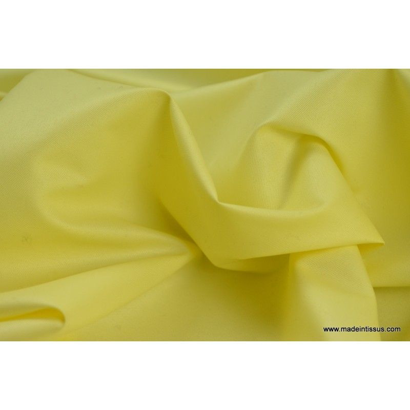 tissu imperm able tanche polyester enduit acrylique jaune. Black Bedroom Furniture Sets. Home Design Ideas