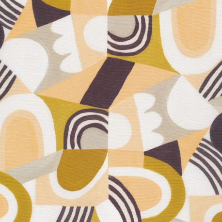 """Tissu Rayon """"Spring Reverie"""" - ripe and ready by Cloud 9"""