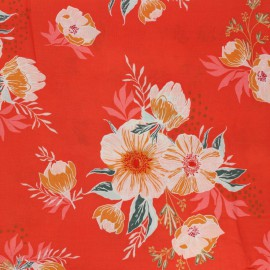 "Tissu Rayon "" Cozy & Joyful"" - Candied Roses - Art Gallery Fabrics"