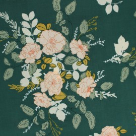 "Tissu Rayon "" Her & History"" - Georgette's Secret Garden - Art Gallery Fabrics"