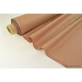 Tissu imperméable étanche polyester enduit acrylique Beige