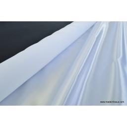 Doublure satin blanc polyester premier prix x50cm