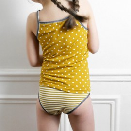 Patron Ensemble de lingerie Belle Mum by Ikatee pour enfant du 3 au 12 ans