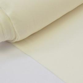 Tissu ultra doux Jersey en viscose Bambou coloris Ecru
