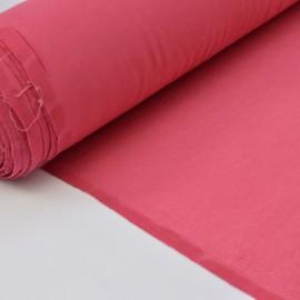Tissu ultra doux Jersey en viscose Bambou coloris Framboise