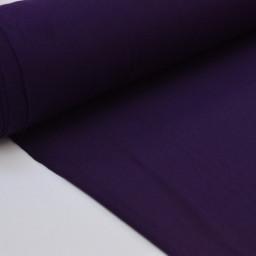 Tissu ultra doux Jersey en viscose Bambou coloris Myrtille (violet)