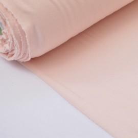 Tissu ultra doux Jersey en viscose Bambou coloris Perle (rose poudré) . x1m